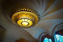 Pasillo principal en la casa Batllo Foto de archivo libre de regalías