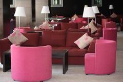 Pasillo rosado Imagen de archivo