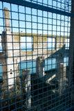 Pasillo social Alcatraz del oficial Fotografía de archivo