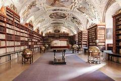 Pasillo teológico del monasterio de Strahov Fotos de archivo libres de regalías