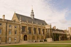 Pasillo, universidad de la trinidad, Cambridge Fotografía de archivo