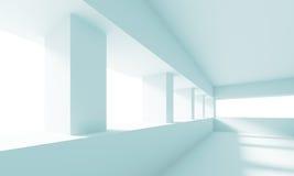 Pasillo vacío blanco Fotos de archivo libres de regalías