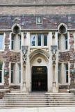 Pasillo verde en el campus de la Universidad de Princeton Fotografía de archivo