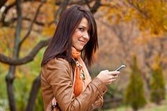 Pasion per tecnologia mobile Immagini Stock Libere da Diritti