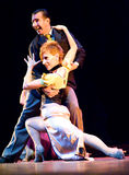 pasion przedstawienie tango zdjęcia royalty free