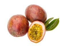 Pasions-Frucht - maracuya Lizenzfreies Stockbild