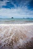 Pasir Hitam Beach, Langkawi Stock Image