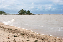Pasir Panjang Beach, Kalimantan Royalty Free Stock Images