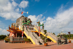 Pasir Penambang Chinese Temple Royalty Free Stock Photo