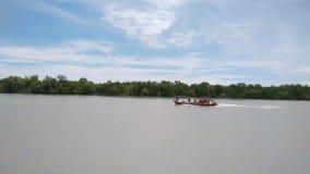 Pasir Penampang美洲红树海边 免版税库存图片