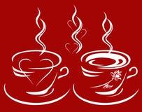 pasja kawowy wektor ilustracja wektor