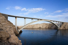 Paski bridge Royalty Free Stock Photos