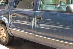 Paskudna pojazd wpadka zdjęcia stock
