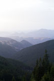 Pasma górskie Carpathians Obraz Royalty Free