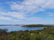 Pasman in the Adriatic sea of Croatia Stock Photography