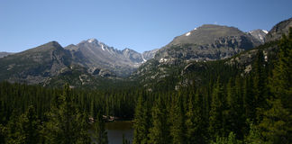 pasmo górskie fotografia stock
