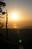 Pasmo górskie Obrazy Royalty Free