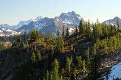 pasmo górskie niewygładzony Zdjęcie Stock