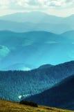 Pasmo górskie w lecie zdjęcia royalty free