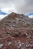 Pasmo Górskie w Uinta lesie państwowym w Utah Obrazy Stock
