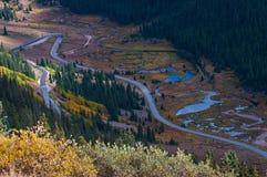Paso Colorado de la independencia imagen de archivo