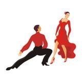 Paso da dança doble Fotos de Stock