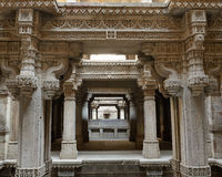 Paso de Adalaj bien en Ahmadabad, la India Fotografía de archivo libre de regalías