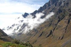 Paso de alta montaña Foto de archivo libre de regalías