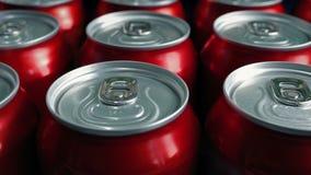Paso de bebidas conservadas genéricas metrajes