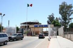 Paso de frontera Imagen de archivo