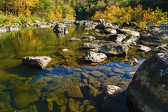 """Paso de Goshen del †de Maury River """", Virginia, los E.E.U.U. Foto de archivo"""