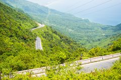 Paso de Hai Van, provincia de la tonalidad de Thua Thien, Vietnam fotos de archivo libres de regalías