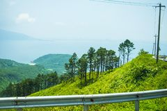Paso de Hai Van, provincia de la tonalidad de Thua Thien, Vietnam imagen de archivo