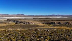 Paso de jama, Argentina chile, desierto de atacama Arkivbild