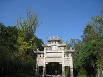 Paso de Jianmen Imagen de archivo