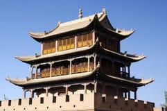 Paso de Jiayu Imagen de archivo libre de regalías