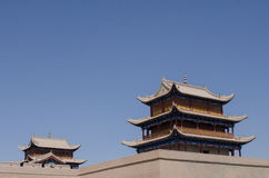Paso de Jiayu Imagenes de archivo