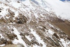 Paso de Khardung, Ladakh, la India Fotografía de archivo