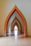 Paso de la abertura del templo en Tailandia Foto de archivo