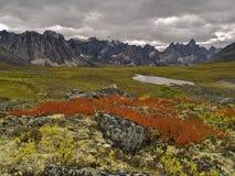 Paso de la piedra sepulcral, Yukon Fotografía de archivo