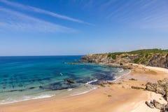 Paso de la playa de la ruta del vicentina en Alentejo Portugal 3 Fotografía de archivo libre de regalías