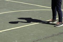Paso de la sombra Fotos de archivo libres de regalías