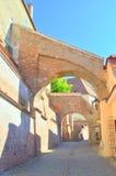 Paso de las escaleras - Sibiu Imagen de archivo