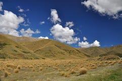 Paso de Lindis en Nueva Zelandia Imágenes de archivo libres de regalías