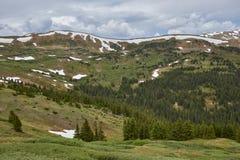 Paso de Loveland, Colorado imagen de archivo libre de regalías