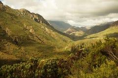 Paso de montaña Imagenes de archivo