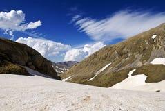 Paso de montaña Fotos de archivo