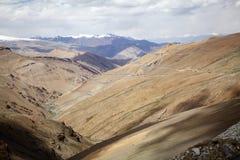 Paso de montaña del La de Taglang en Ladakh, la India Fotografía de archivo libre de regalías