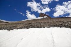 Paso de montaña del La de Taglang en Ladakh, la India Imagenes de archivo