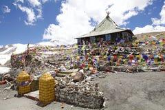 Paso de montaña del La de Taglang en Ladakh, la India Imagen de archivo